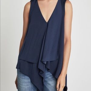 BCBG Cyprien Top in Black